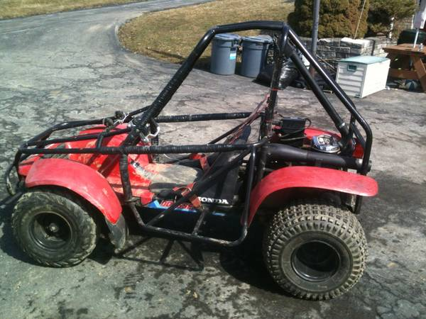 Honda Odyssey ATV For Sale: (76-84) FL250 Kart, 1985 FL350 Dune Buggy